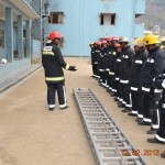 Nepalese firemen participating in a disaster drill / by UNDP Nepal