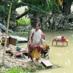 Waiting for assistance in the floods, Assam, India / by OXFAM 2012